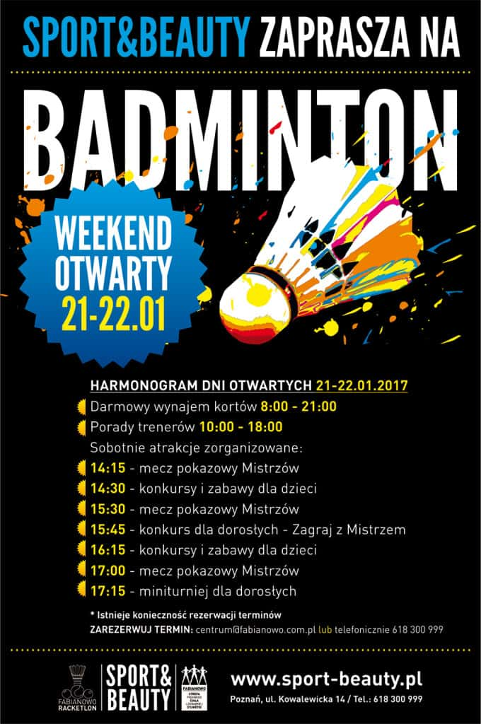 BADMINTON-promocja